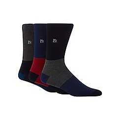Hammond & Co. by Patrick Grant - Pack of three assorted bamboo rich socks