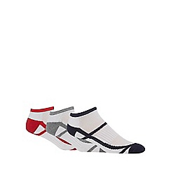 Debenhams Sports - Pack of three trainer socks