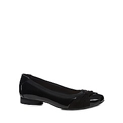 Good for the Sole - Black patent 'Gabs' wide fit pumps