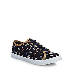 Mantaray - Multi-coloured canvas 'Marie' trainers