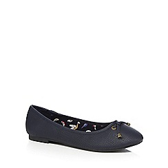 Mantaray - Navy 'Monet' pumps