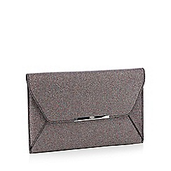 Faith - Multi glitter 'Party' envelope clutch bag