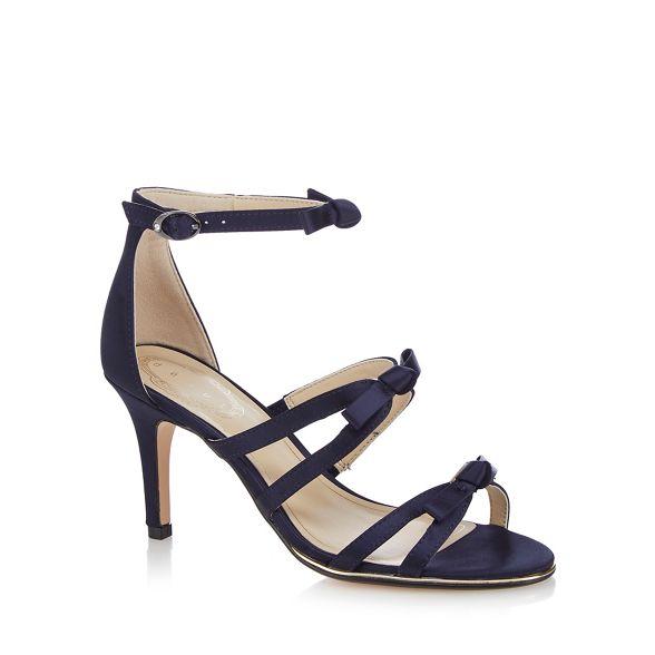 strap 'Drew' sandals Debut stiletto Navy high ankle heel vxOYxqw
