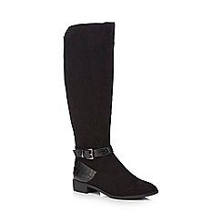 Principles by Ben de Lisi - Black suedette 'Breda' knee high boots