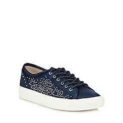Nine by Savannah Miller - Navy 'Sienna' trainers