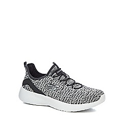 Skechers - Grey 'Dynamight' slip-on trainers