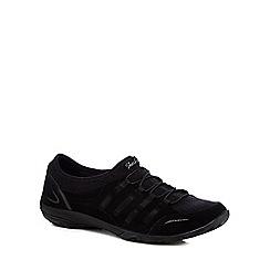 Skechers - Black 'Empress Splendid' slip on trainers