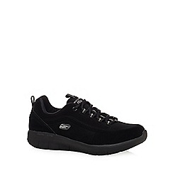 Skechers - Black 'Synergy 2.0 Side-Step' lace up trainers