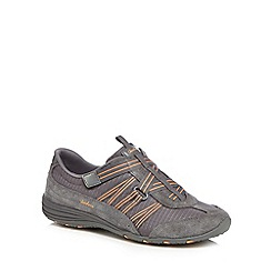 Skechers - Grey 'Unity Existent' slip-on trainers