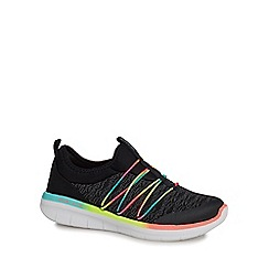 Skechers - Black 'Synergy' trainers