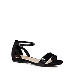 The Collection - Black 'Caprice' ankle strap sandals