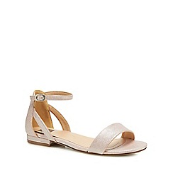 The Collection - Pink 'Caprice' ankle strap sandals