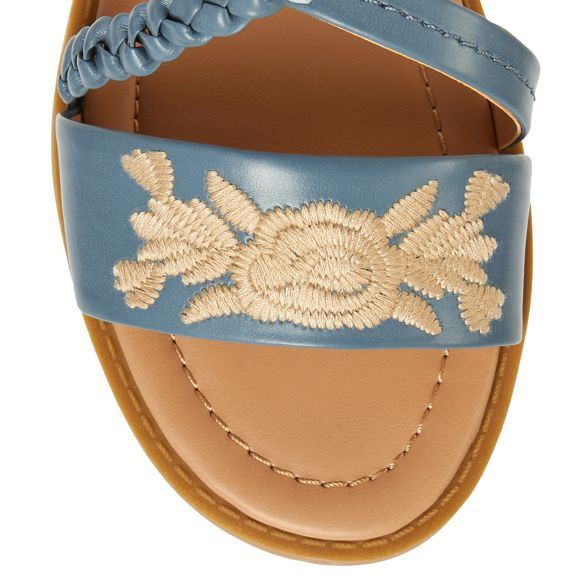 ankle strap Mantaray sandals Blue 'Martha' qwSf1gF