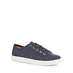 Mantaray - Navy suedette 'Mars' trainers