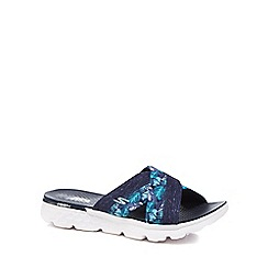 Skechers - Navy 'On The Go Tropical' sandals