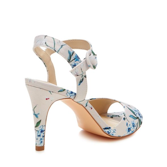 high Debut coloured 'Daenerys' ankle heel stiletto sandals strap Multi FFOwxqzt