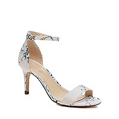 69ce228c7 Debut - Multi-coloured  Daisy  mid stiletto heel ankle strap sandals
