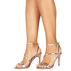 Faith - Rose 'Delly' high heel wide fit ankle strap sandals