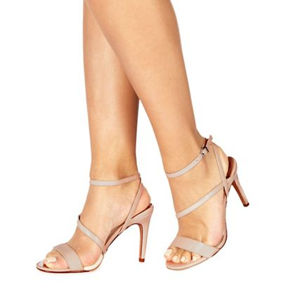 a56f4d3b4cf7 Faith Natural  Delly  high heel wide fit ankle strap sandals