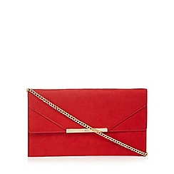 Faith - Red 'Patricia' clutch bag