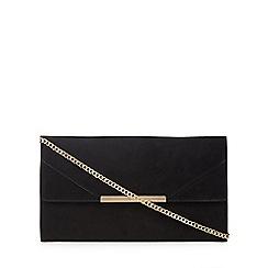 Faith - Black 'Patricia' clutch bag