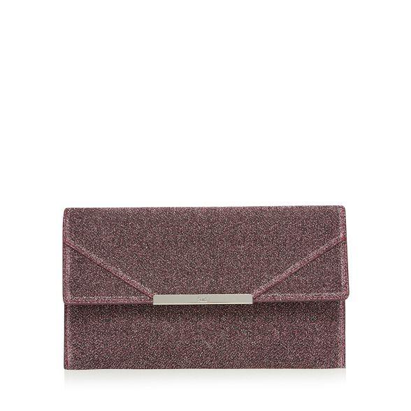Pink textured clutch Faith 'Patricia' bag dgnn4xZBw