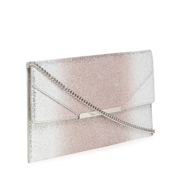 Silver clutch glitter Faith 'Patricia' bag dp4wtvx