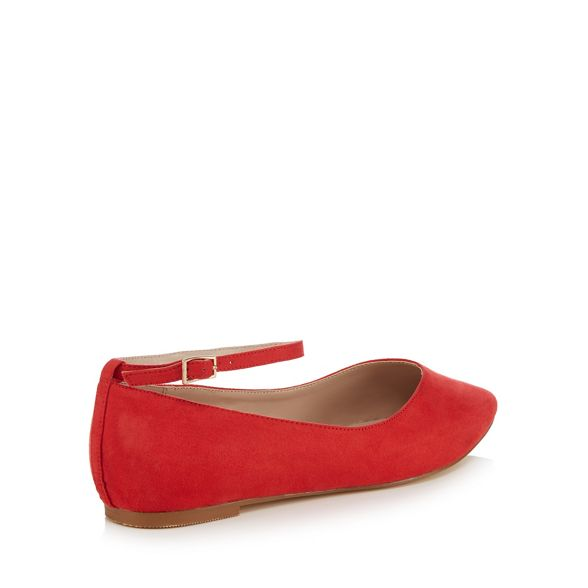 'Ally' shoes Faith pointed wide Red fit xwBOBHnp