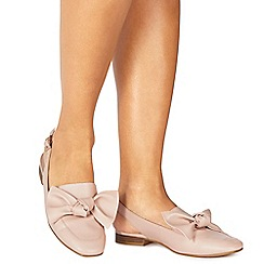 Faith - Pink 'Aria' sling backs