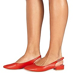 Faith - Red 'Amelia' slingbacks