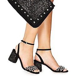 Faith - Black 'Paris' studded cross body bag