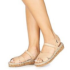 Faith - Cream 'Jupiter' ankle strap sandals