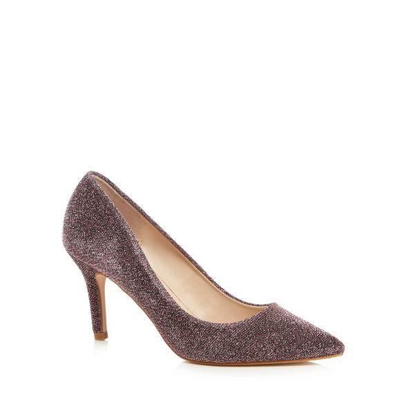 'Chariot' Faith wide heel fit pointed high Metallic shoes stiletto r5fXqIFrn