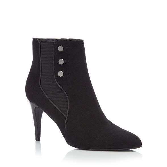 boots Navy heeled suedette ankle Principles 'Captain' xTpvCXwpq