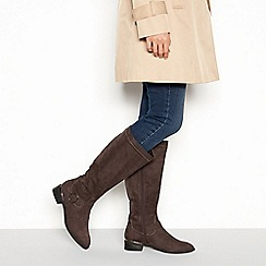 Principles - Dark grey 'Condo' riding boot