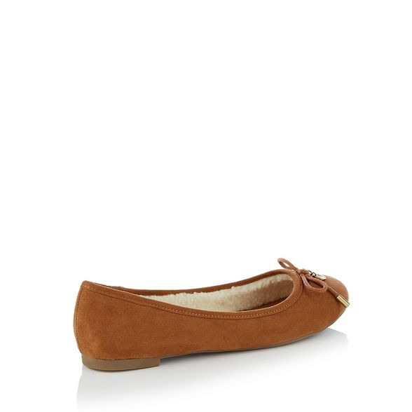 ballet pumps 'Marsh' suedette Mantaray Tan WntqgwYt0