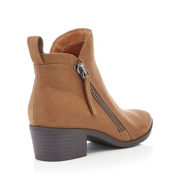 suedette 'Mindy' Olive Mantaray heel block boots ankle CzPxwg5x
