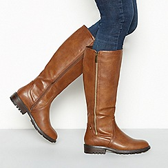 Mantaray - Tan 'Melter' calf boots