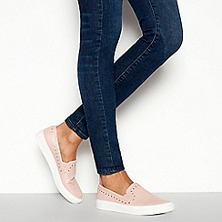 Faith - Natural 'Kendall' Slip On Trainers