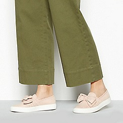 Faith - Natural 'Krispier' Slip On Trainers