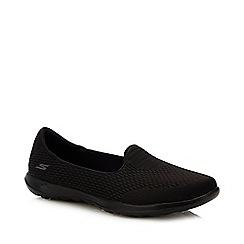 Skechers - Black 'Shanti' Slip-On Trainers