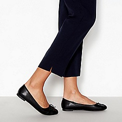 Principles - Black 'Colette' Ballerina Pumps