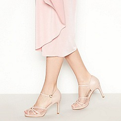 Debut - Pake Pink  Delphi  Lace Stiletto Sandals 63c6939fe2