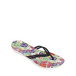 Crocs - White 'Isabella' flip flops