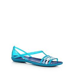Crocs - Blue 'Isabella' flip flops