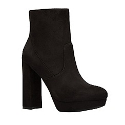 Call It Spring - Ladies ankle bootie on platform block heel