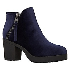 Call It Spring - Ladies side zip lug sole boots