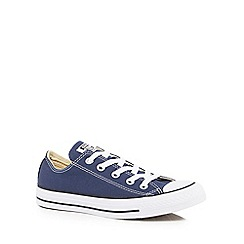Converse - Navy 'All Star' lace up shoes