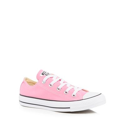 Converse - Pink canvas 'All Star' lace up shoes