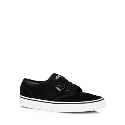 Vans - Black suede 'Atwood' trainers